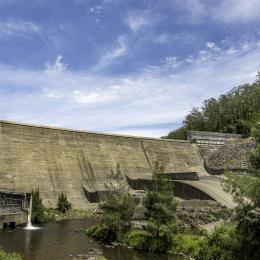 Site Visit to Chichester Dam