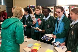 Students at Natrional Science Week